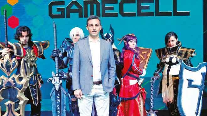 Turkcell oyun dünyasınaGamecell ile hızlı girdi