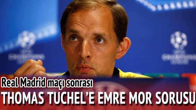 Dortmund'un hocas� Tuchel'e Emre Mor sorusu