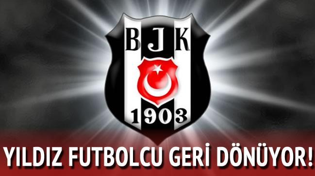 Fla�! Y�ld�z futbolcu Be�ikta�'a geri d�n�yor!