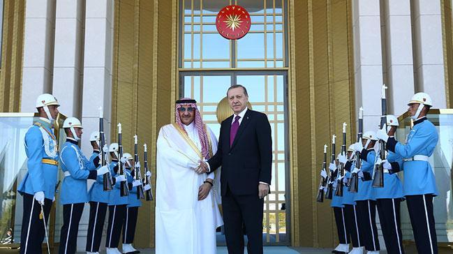 Suudi Arabistan Veliaht Prensi Muhammed bin Nayif T�rkiye'de