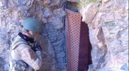 PKK'n�n t�nellerine girildi