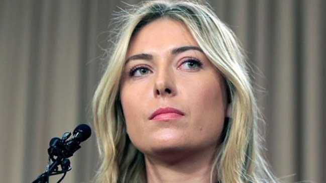 CAS'tan Sharapova'ya m�jde