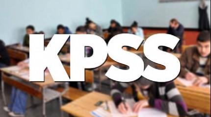 KPSS �n lisans giri� belgeleri eri�ime a��ld�