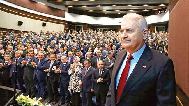 Başbakan Yıldırım: Başkanlık teklifimiziMeclis'e getireceğiz