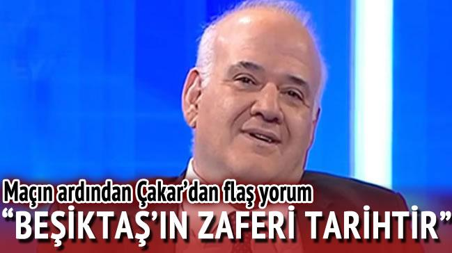 Ahmet �akar'dan fla� Be�ikta� yorumu!