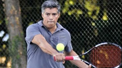 ABD'li y�ld�z Antalya'da tenis oynad�
