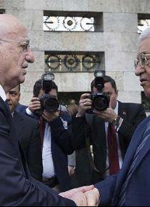 Filistin Devlet Ba�kan� Abbas Meclis'te