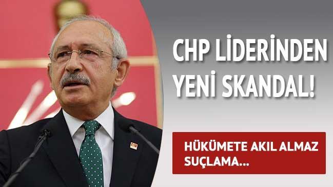CHP liderinden yeni skandal