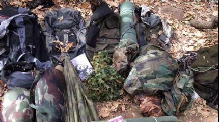 Bing�l'de 1 PKK'l� yakaland�, �ok say�da m�himmat bulundu