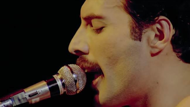 Freddie Mercury'i bakın kim canlandıracak