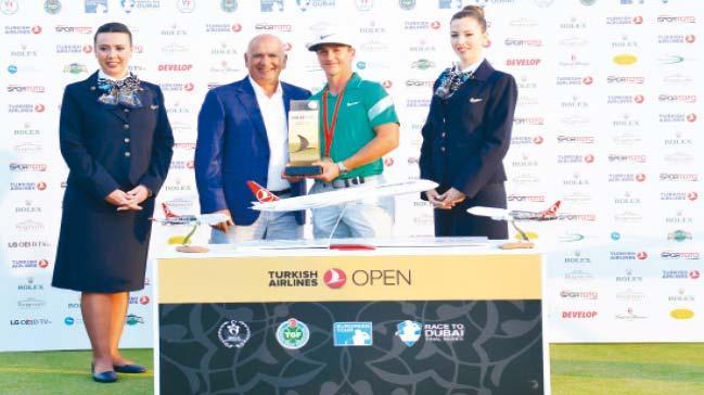 7 milyon dolar ödüllü golf turnuvasının kazananı Türkiye