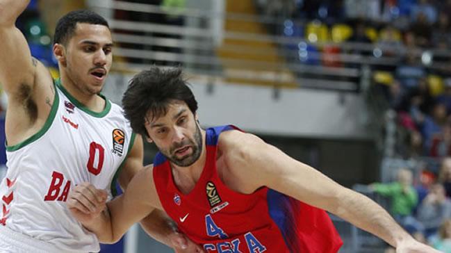 Euroleague'de haftanın MVP'si Milos Teodosic