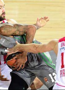 Darüşşafaka, Olympiakos'a direnemedi