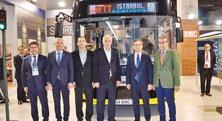 BMC'nin otobüs modelleriİstanbul çıkarması yaptı