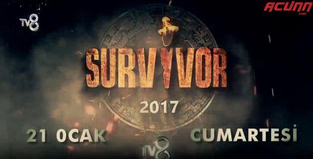 2017 Survivor ünlüler gönüllüler kadro isim tam listesi Survivor ne zaman
