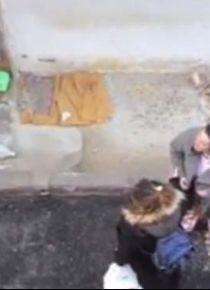 İzmir Balçova'da utandıran görüntüler