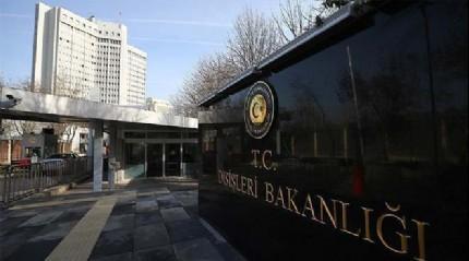Dışişleri Bakanlığı, İtalya'ya taziyelerini iletti