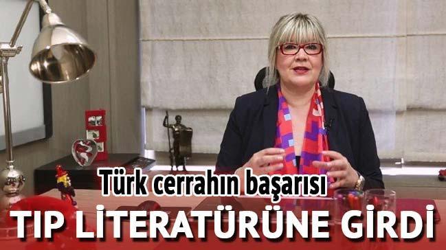 Türk cerrahın başarısı! Tıp literatürüne girdi