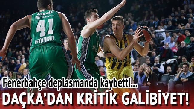 Darüşşafaka'dan kritik galibiyet! Fenerbahçe...