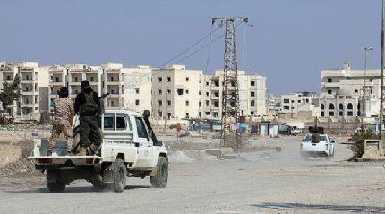 ÖSO birlikleri El Bab ilçe merkezinde ilerliyor