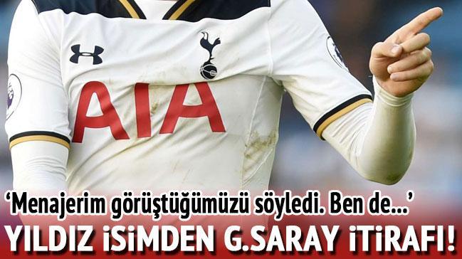 Yıldız futbolcudan Galatasaray itirafı
