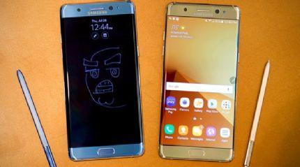 Samsung Galaxy Note 7 geri dönüyor