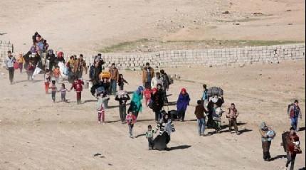 Musul ve Havice'yi terk edenlerin sayısı 220 bine ulaştı