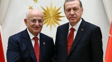 Cumhurbaşkanı Erdoğan'dan Meclis Başkanı İsmail Kahraman'a ziyaret