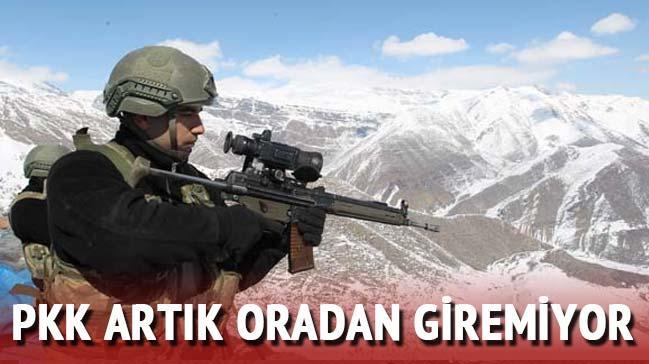 PKK artık oradan giremiyor...