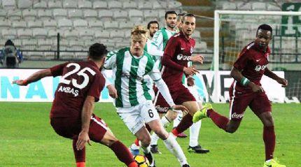 Konya'da kazanan çıkmadı! Trabzonspor...