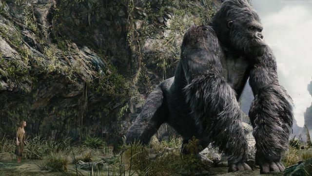 Dünyanın en meşhur gorili: King Kong