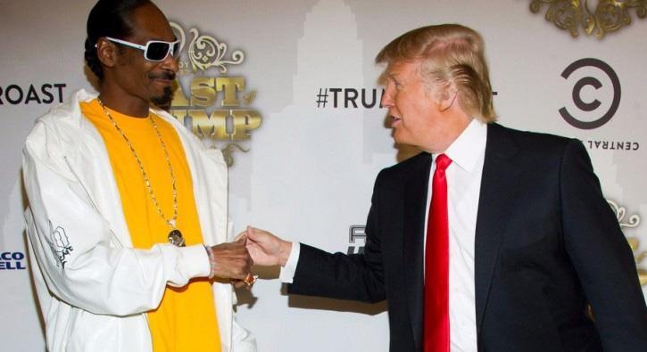 Trump ile Snoop Dogg karşı karşıya: Ünlü rapçiden 'palyaço Trump'lı klip
