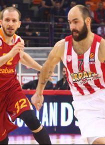 Olympiakos'a ikinci şok Galatasaray Odeabank'tan