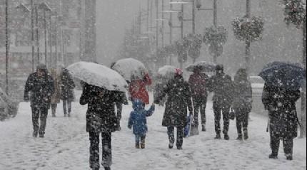 Kuvvetli kar yağışı bekleniyor