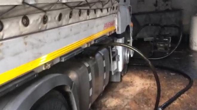 100 tonluk 'kaçak akaryakıt' operasyonu