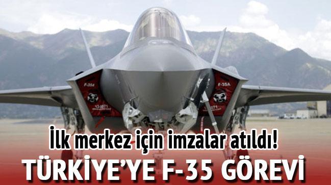 Türkiye'ye F-35 görevi
