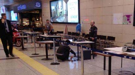 Atatürk Havalimanı'nda referandum hazırlıkları başladı
