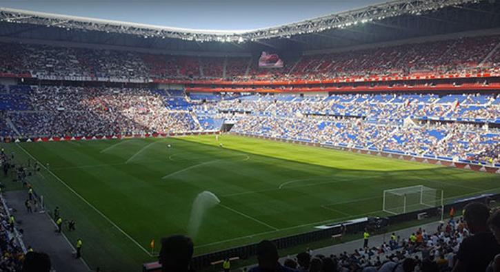 Lyon'da Beşiktaş'a müthiş destek! 15 bin taraftar...
