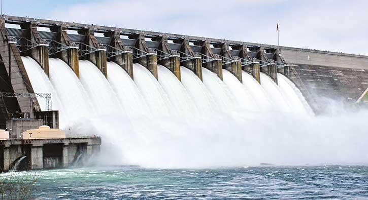 Hidroelektrik enerjide Almanya ve Fransa'yı solladık