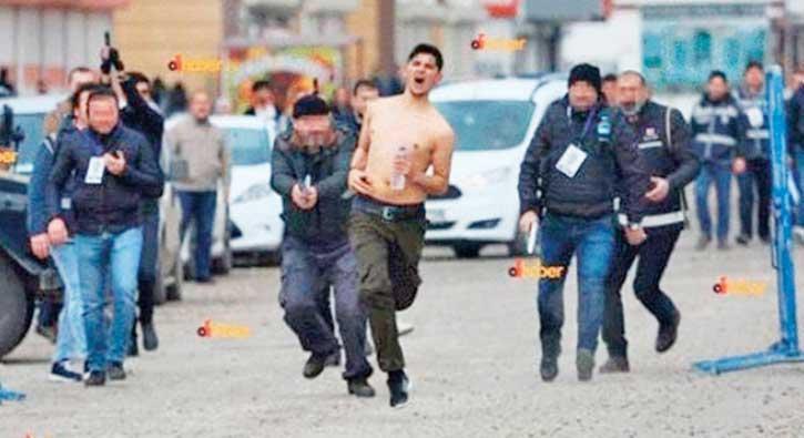 Nevruz kutlamasında  FETÖ-PKK kurgusu