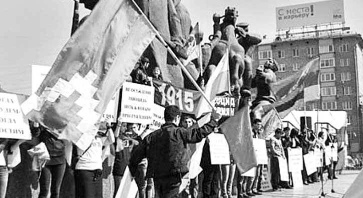 Diaspora Ermenilerikışkırtmaya devam ediyor