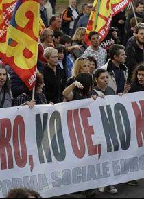 Euro'ya isyan