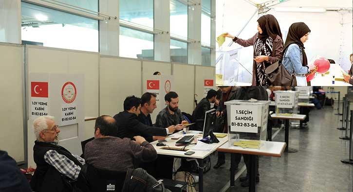 Referandumda ilk oylar kullanıldı