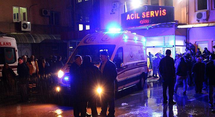 Tokat'ta köy minibüsü uçuruma devrildi: 1 ölü, 14 yaralı