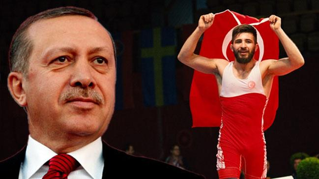 Cumhurbaşkanı Erdoğan'dan Süleyman Atlı'ya kutlama!