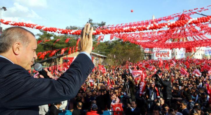 Erdoğan: 'Mardin'e yılda 10 milyon turist gelmiyorsa bunun nedeni terördür'
