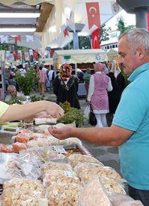 57 köyde üretiliyor, 'Şile Yeryüzü Pazarı'nda satılıyor