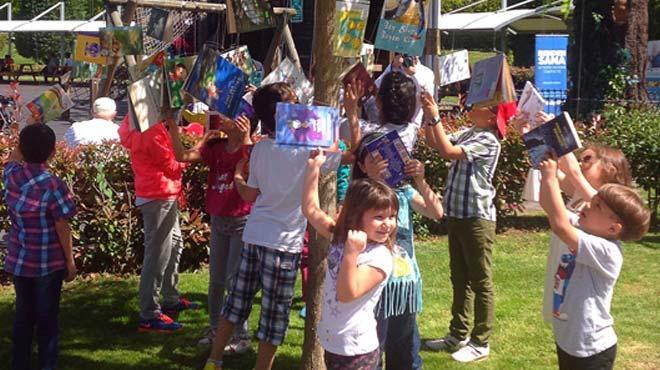 Çocuklar Kitap Ağacı'nın meyvelerini Miniatürk'te toplayacak