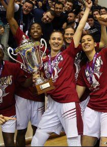 Yakın Doğu Üniversitesi EuroCup şampiyonu oldu