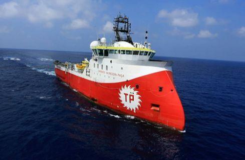 Barbaros Hayrettin Paşa sismik gemisi Akdeniz'e iniyor